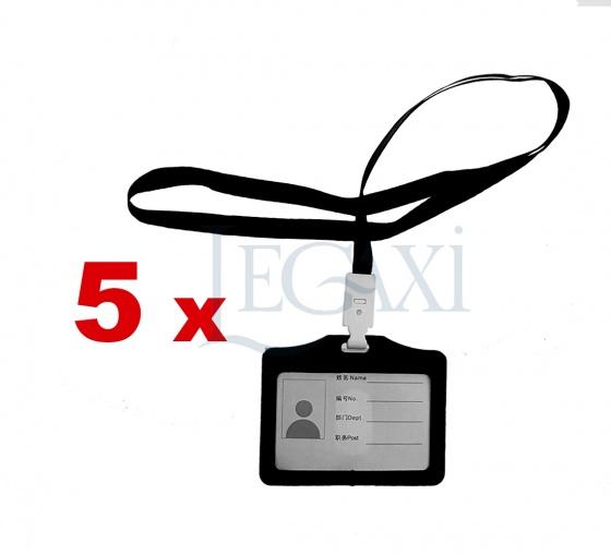 5 Dây đeo thẻ bảng tên ngang học sinh sinh viên nhân viên văn phòng Legaxi