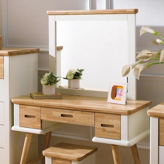 Bộ bàn trang điểm Canna gỗ tự nhiên - Cozino