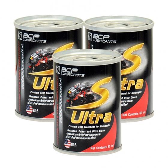 Combo 3 chai dung dịch vệ sinh buồng đốt xe máy nhập khẩu Thái Lan - BCP S ULTRA - 60ml