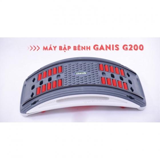 Máy tập bụng giảm eo Ganis G200 - tặng vật lý trị liệu 4 miếng dán