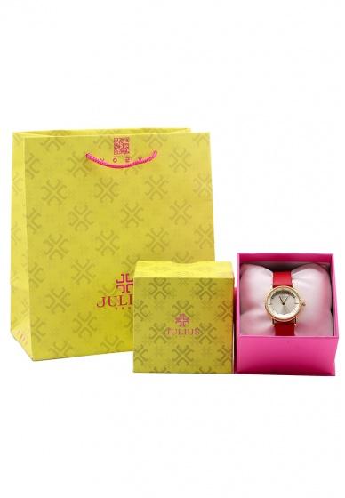 Đồng hồ nữ Julius Hàn Quốc dây da ja-1012 (5 màu)