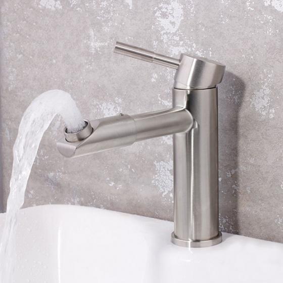 Vòi chậu lavabo nóng lạnh inox 304 SUS3311-1