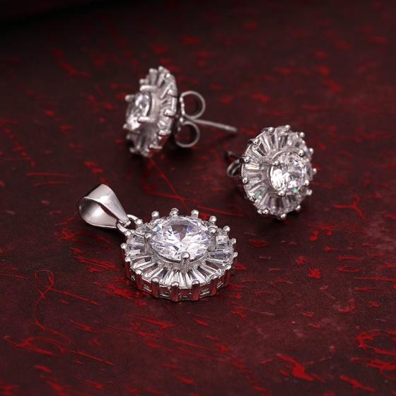 Bộ trang sức bạc Malzahar Love