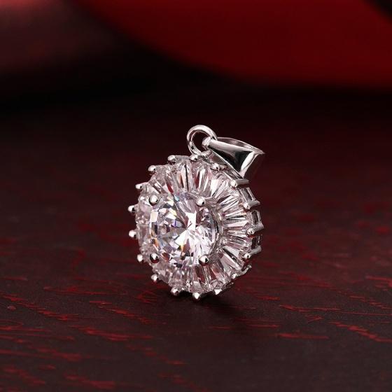Bộ trang sức bạc Roxa Flower