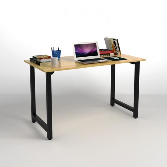 Bộ bàn Rec-T đen và ghế IB517 đen - IBIE