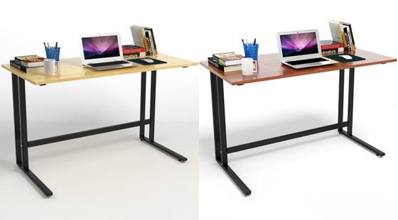 Bộ bàn Rec-U đen gỗ cao su và ghế IB517 đen - IBIE