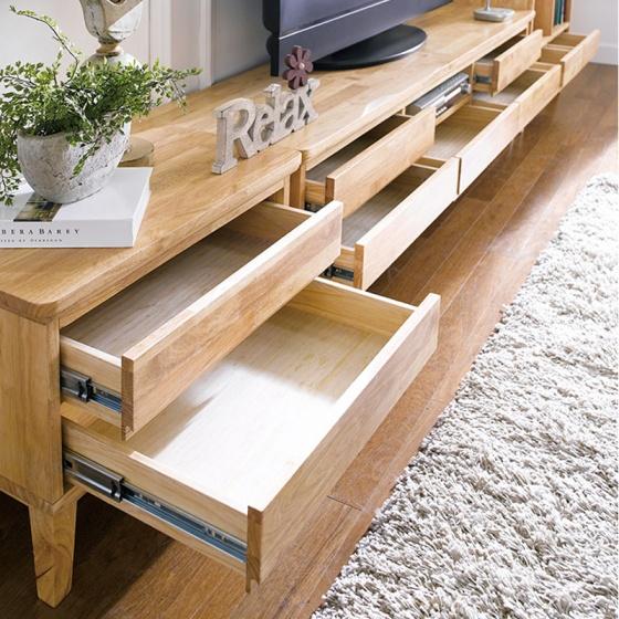 Tủ tivi Ixora gỗ cao su - Cozino