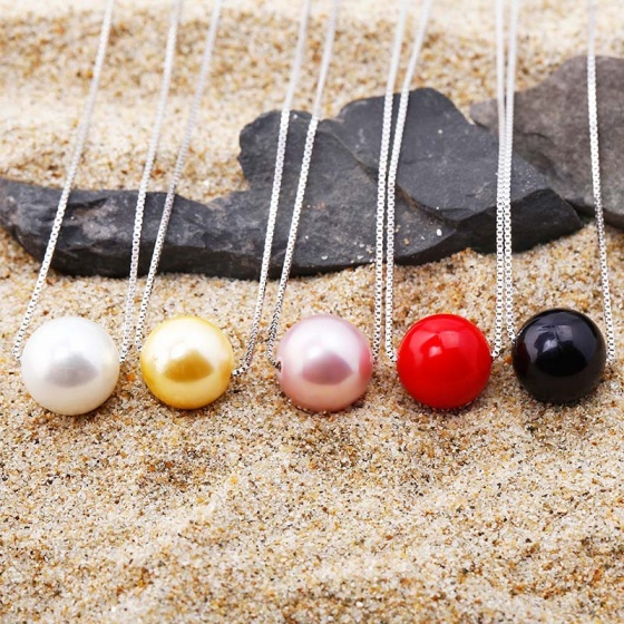 Dây chuyền bạc ngọc trai Love Line - Eropi Jewelry(Giao hàng ngẫn nhiên)