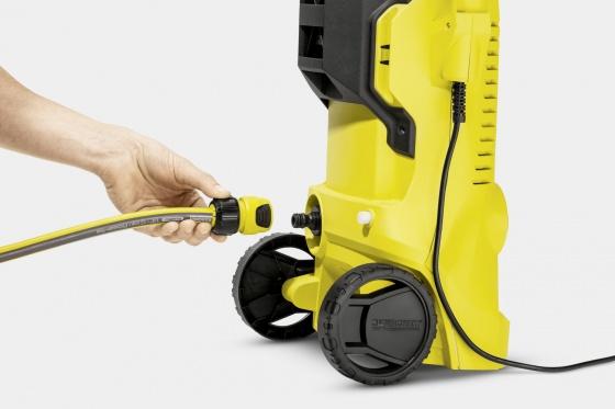 COMBO Máy phun rửa áp lực cao Karcher K2 Full control car và dây cấp nước 1.5m