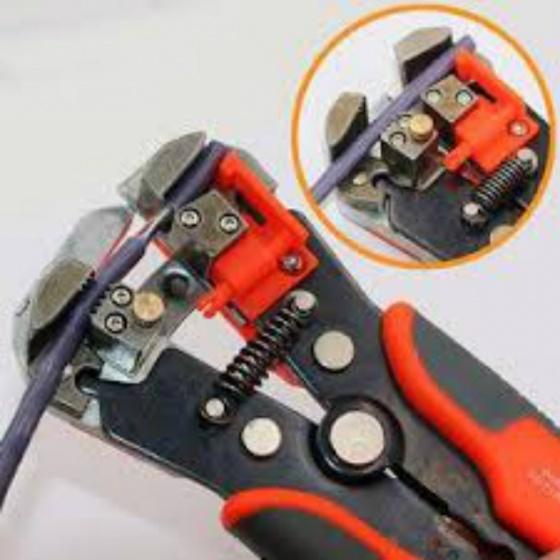 Kìm tuốt dây điện - Luva (màu đỏ)