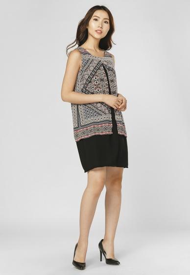 Đầm suông cách điệu HK 550