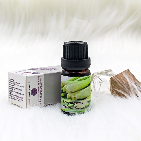 Tinh dầu sả chanh (Essential Lemongrass Oil) 10ml