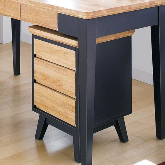 Tủ ngăn kéo Lantana 3 hộc gỗ cao su - Cozino