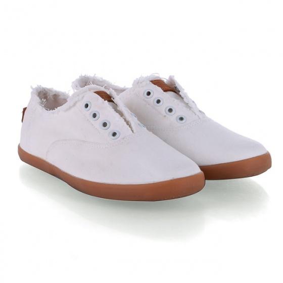 Giày lười nữ Sutumi W149 - trắng