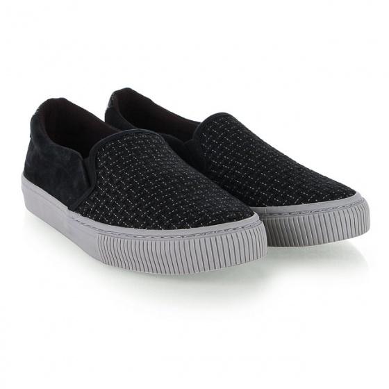 Giày lười nữ Sutumi W158 - Đen