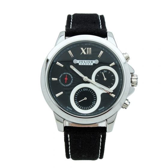 Đồng hồ nam Julius JAH-055B JU1095 (Mặt đen)