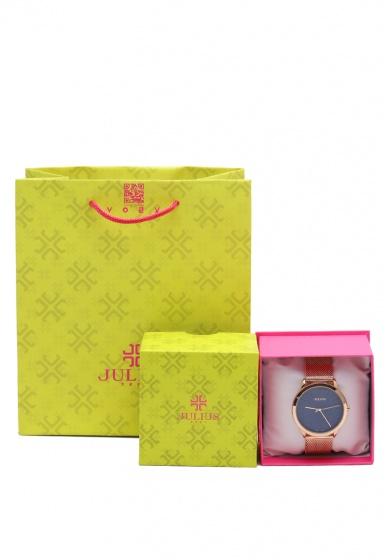 Đồng hồ nam Julius Hàn Quốc dây thép JA-982MD JU1231 (Đồng xanh)