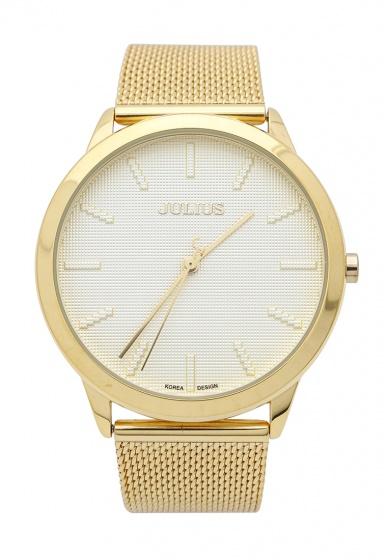 Đồng hồ nam Julius Hàn Quốc dây thép JA-982MB JU1231 (Vàng)