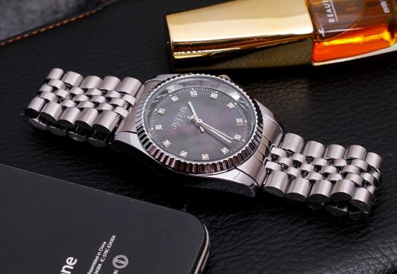Đồng hồ nam JA-1069 Julius Hàn Quốc dây thép