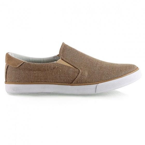 Giày lười nữ Sutumi W122- Nâu