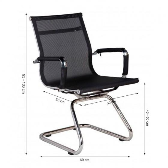 Ghế chân quỳ IBIE IB701 màu đen