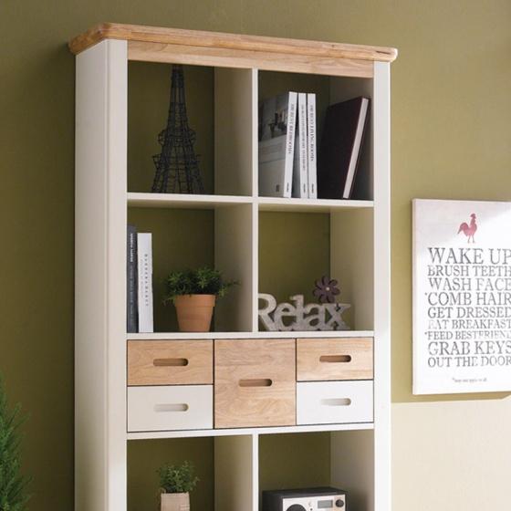 Tủ sách Vivid gỗ tự nhiên