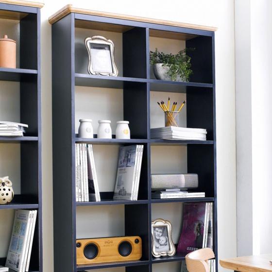 Tủ sách lớn NB-Blue gỗ tự nhiên