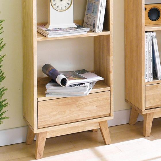 Tủ sách nhỏ NB-Natural gỗ tự nhiên