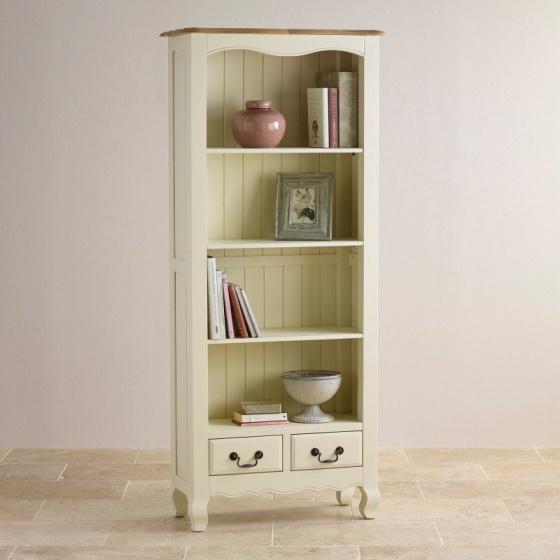 Tủ sách cao Bella gỗ sồi