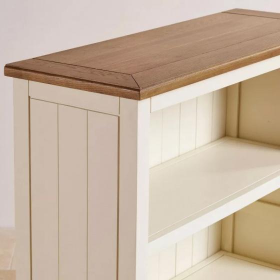 Tủ sách cao Shutter gỗ sồi