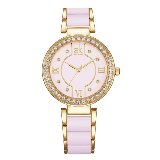 Đồng hồ nữ chính hãng Shengke UK K0031L-02