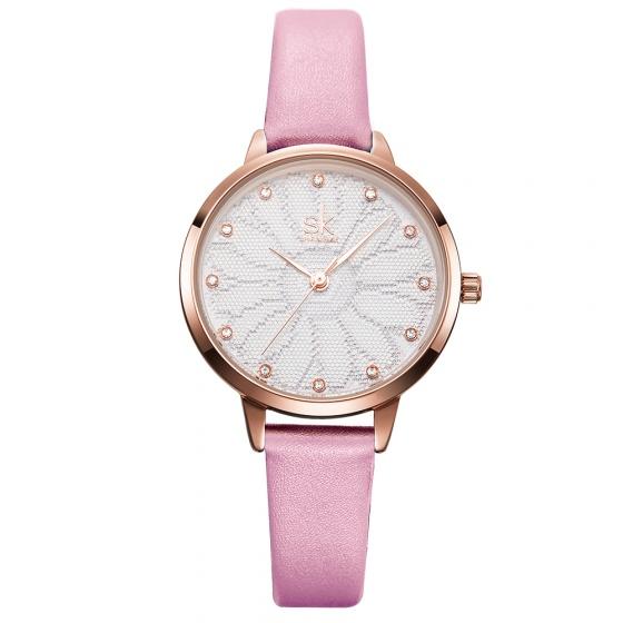 Đồng hồ nữ chính hãng Shengke UKK8058 hồng