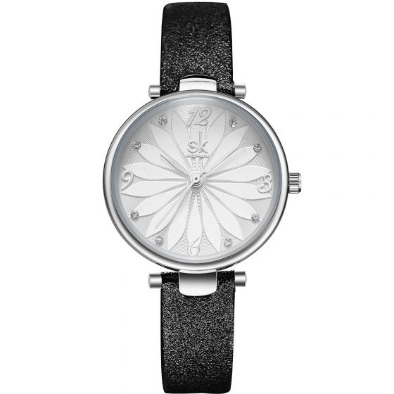 Đồng hồ nữ chính hãng Shengke UK K8047L đen