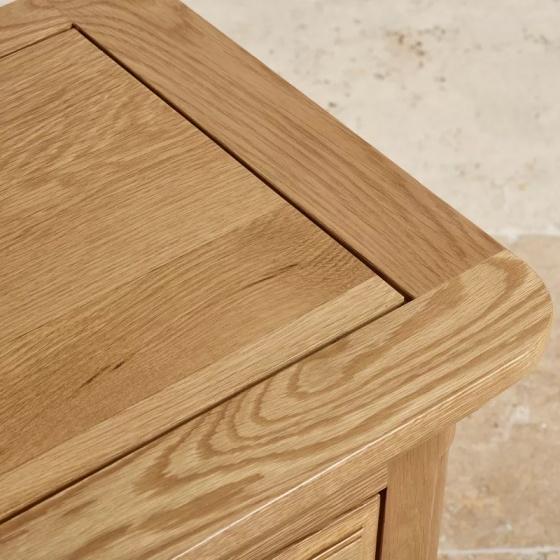 Tủ sách thấp Canterbury gỗ sồi