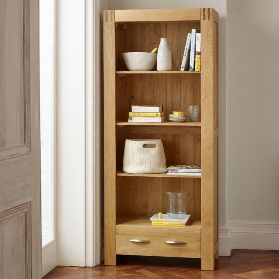 Tủ sách cao Alto gỗ sồi - IBIE