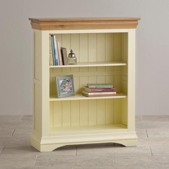 Tủ sách thấp Country Cottage gỗ sồi