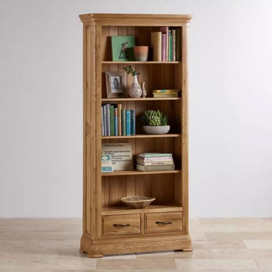Tủ sách cao Canterbury gỗ sồi - IBIE