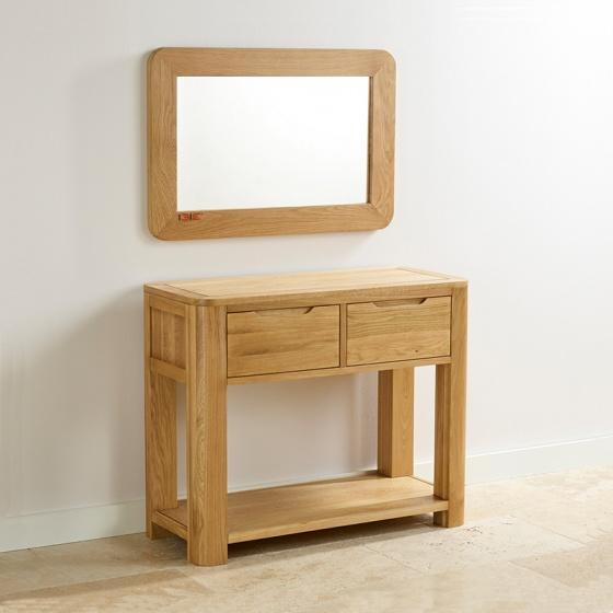Gương treo tường Romsey gỗ sồi - IBIE