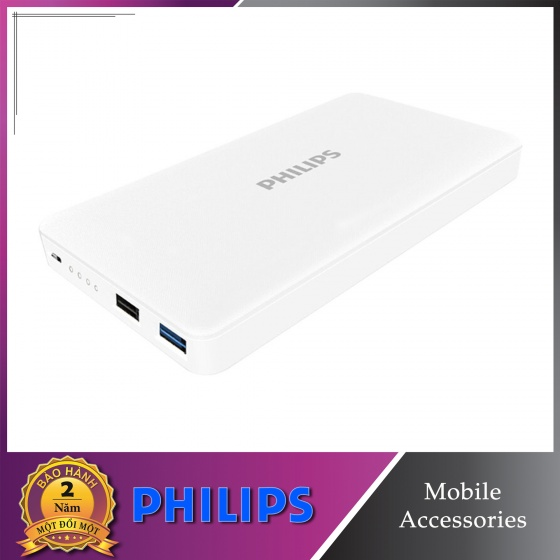 Pin sạc dự phòng Philips DLP2105 20000mAh