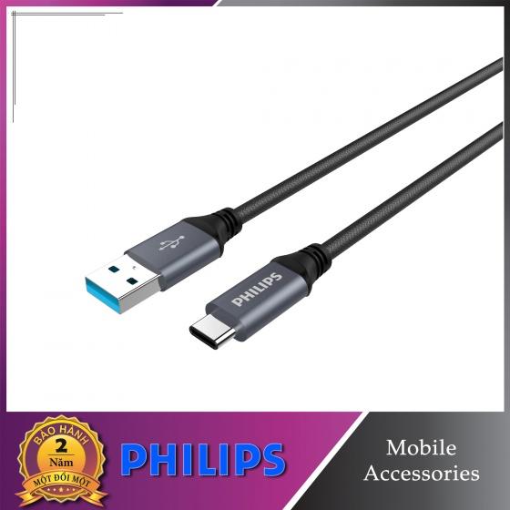 Cáp sạc USB-C siêu bền Philips DLC4530AB