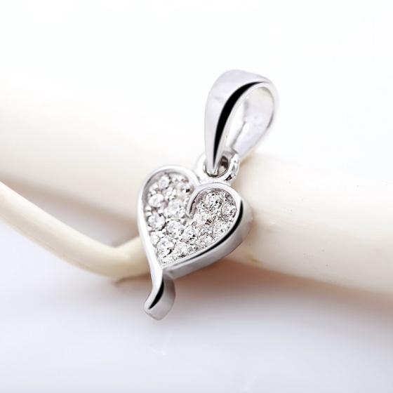 Mặt dây chuyền bạc Warwick Love