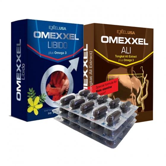 Bộ viên uống tăng cường sinh lý nam giới Omexxel Ali & Libido (60 Viên) - Xuất xứ Mỹ