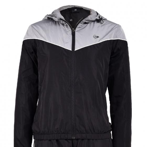 Bộ quần áo gió nữ Dunlop - DBGF8151-2-BK01 (Đen)