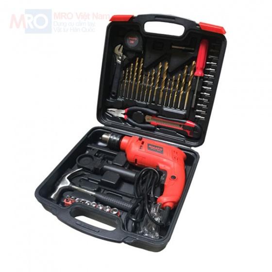Bộ dụng cụ sửa chữa đa năng Smato 48 chi tiết có máy khoan