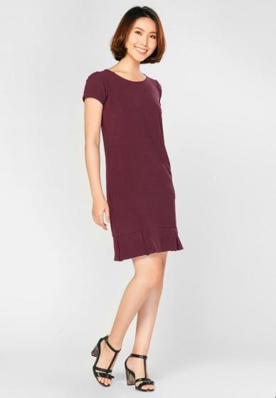 Đầm suông họa tiết HK 597