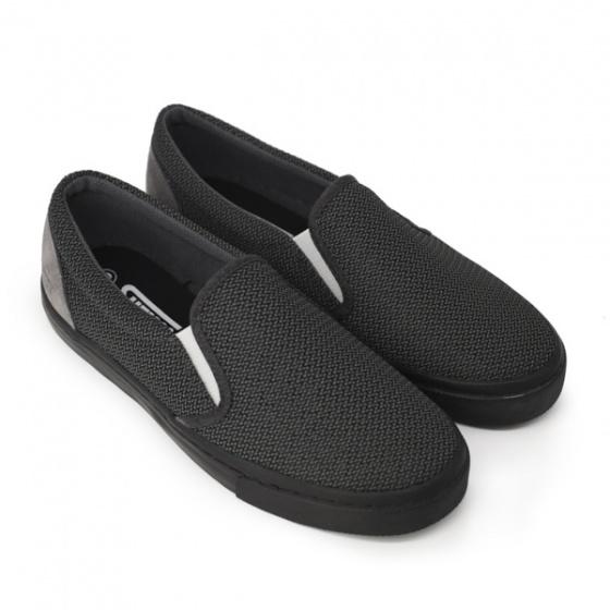 Giày lười nam Sutumi M128 - xám đen