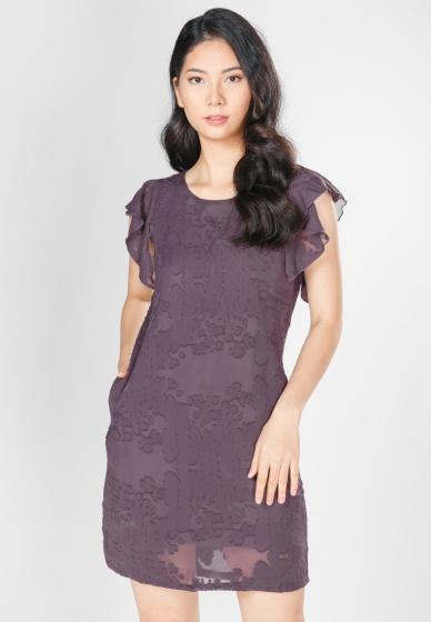 Đầm suông tay bèo HK 618