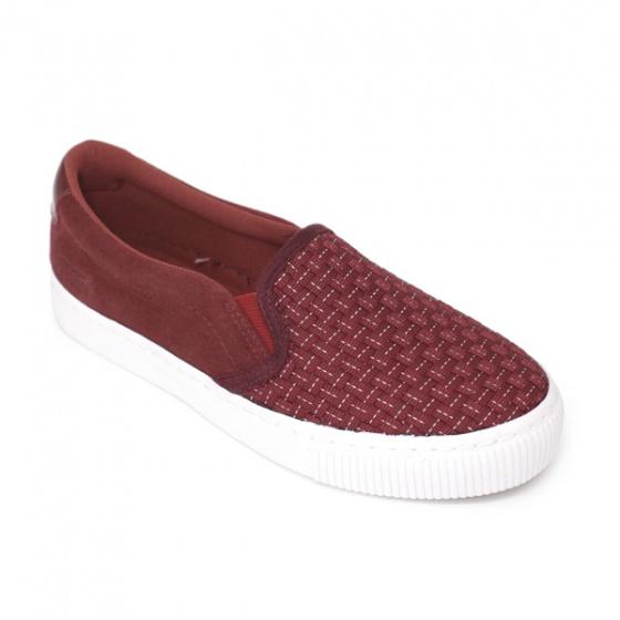 Giày lười nam Sutumi M158 - Đỏ