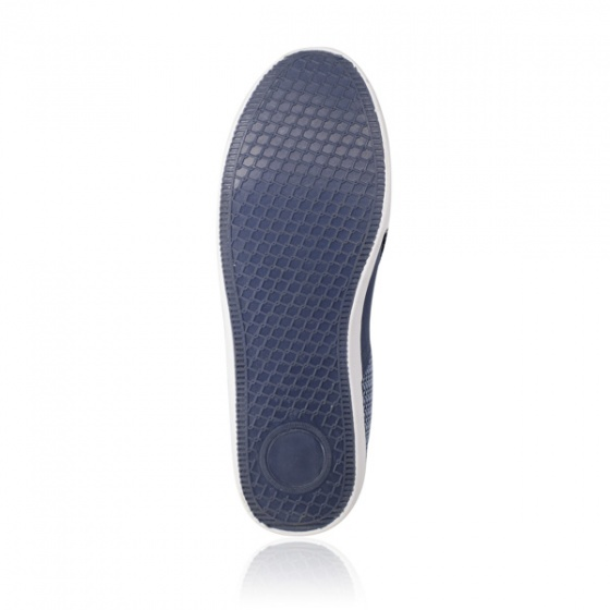 Giày lười nữ Sutumi F158 - Xanh đen