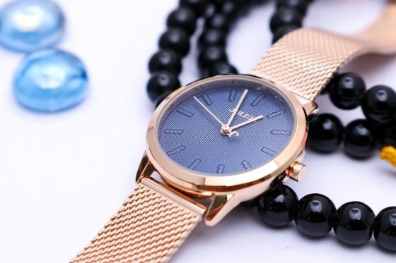 Đồng hồ nữ Julius Hàn Quốc dây thép JA-982LD JU1231 (đồng xanh)